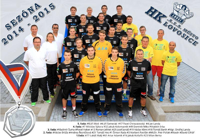 Team 2014-2015 - 2 místo