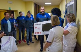 Lovci rozdávali radost v Nemocnici Litoměřice
